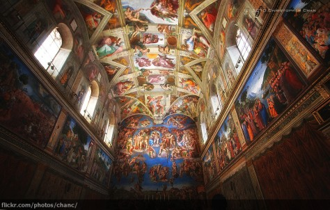 Sistine Chapel - Christopher Chan